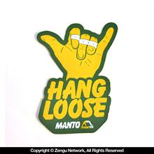 "Manto ""Hang Loose"" BJJ Gi Patch"